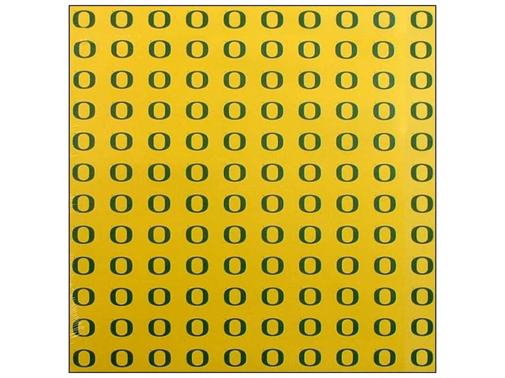 Sports Solution Paper 12 in. x 12 in. Oregon Yellow (25 sheets)