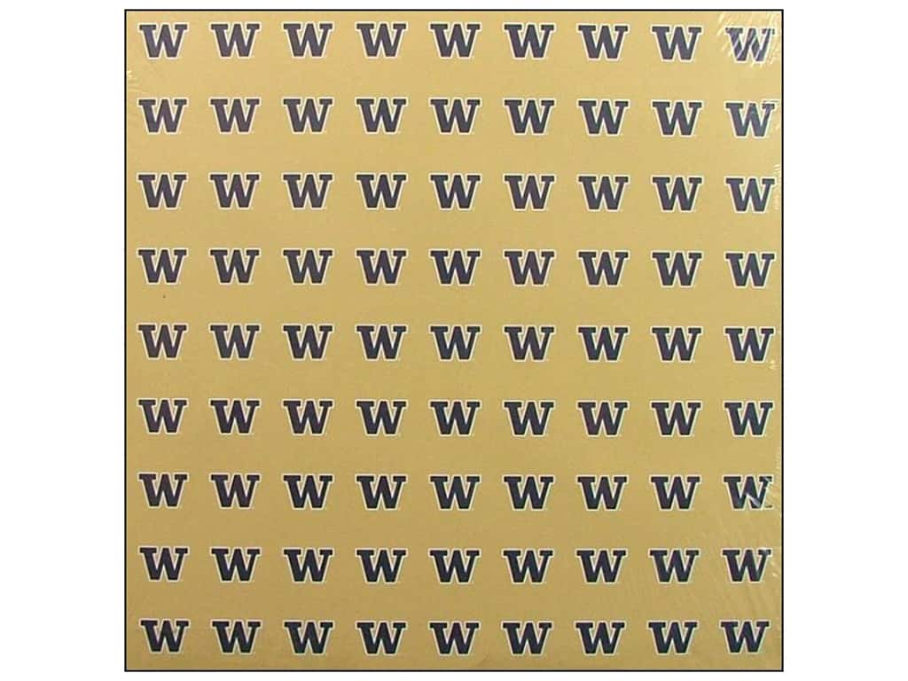 Sports Solution Paper 12 in. x 12 in.  Washington Gold (25 sheets)
