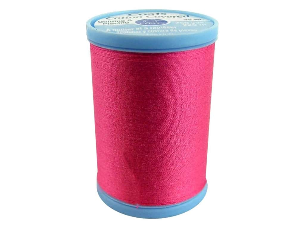 Coats Cotton Covered Quilting & Piecing Thread 250 yd. #1840 Hot Pink