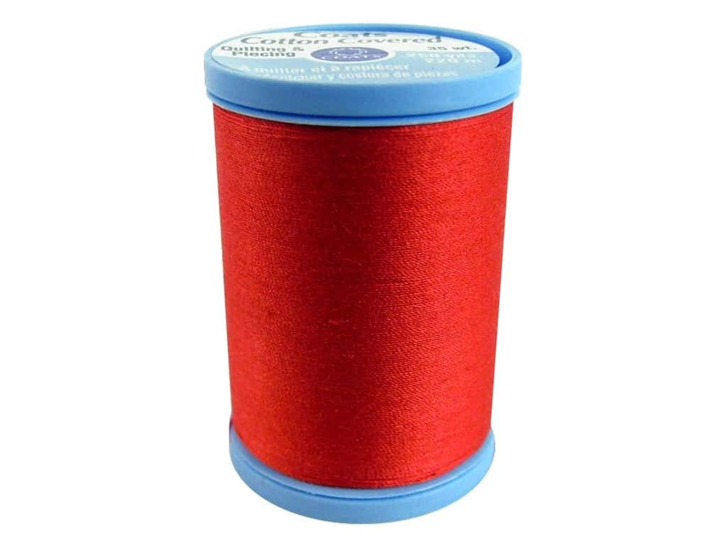 Coats Cotton Covered Quilting & Piecing Thread 250 yd. #2160 Atom Red