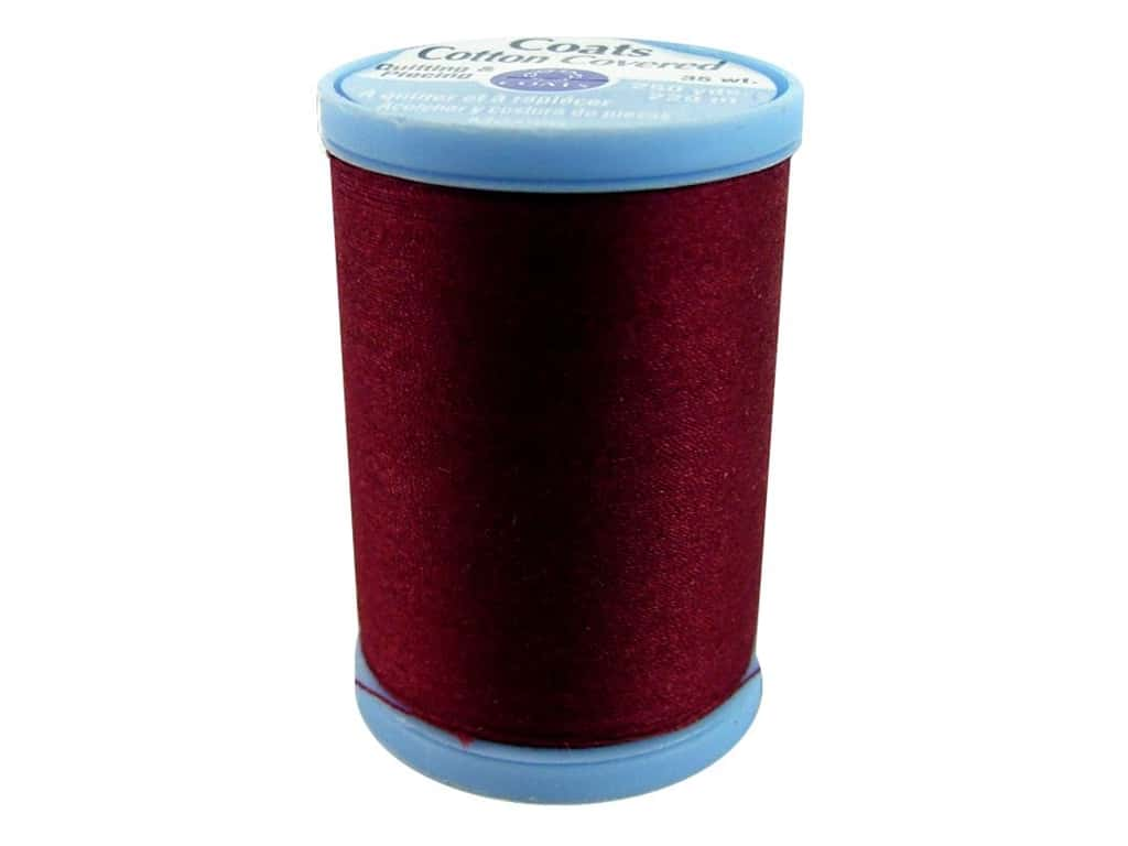 Coats Cotton Covered Quilting & Piecing Thread 250 yd. #2820 Barberry Red