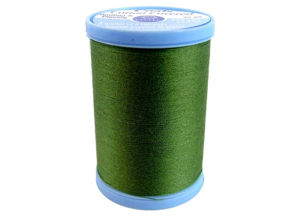 Coats Cotton Covered Quilting & Piecing Thread 250 yd. #6340 Olive
