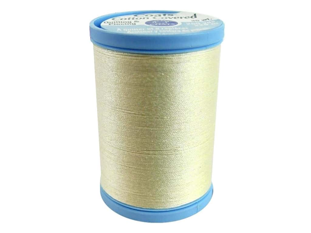 Coats Cotton Covered Quilting & Piecing Thread 250 yd. #8020 Cream
