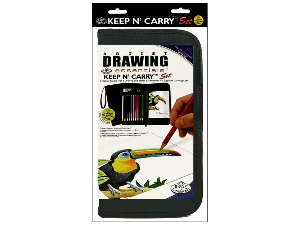 Royal Artist Essentials Keep N' Carry Drawing Set