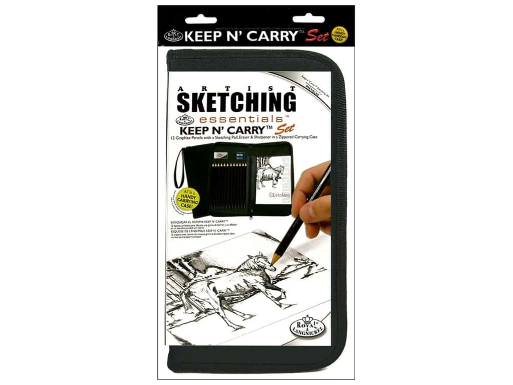 Royal Artist Essentials Keep N' Carry Sketching Set