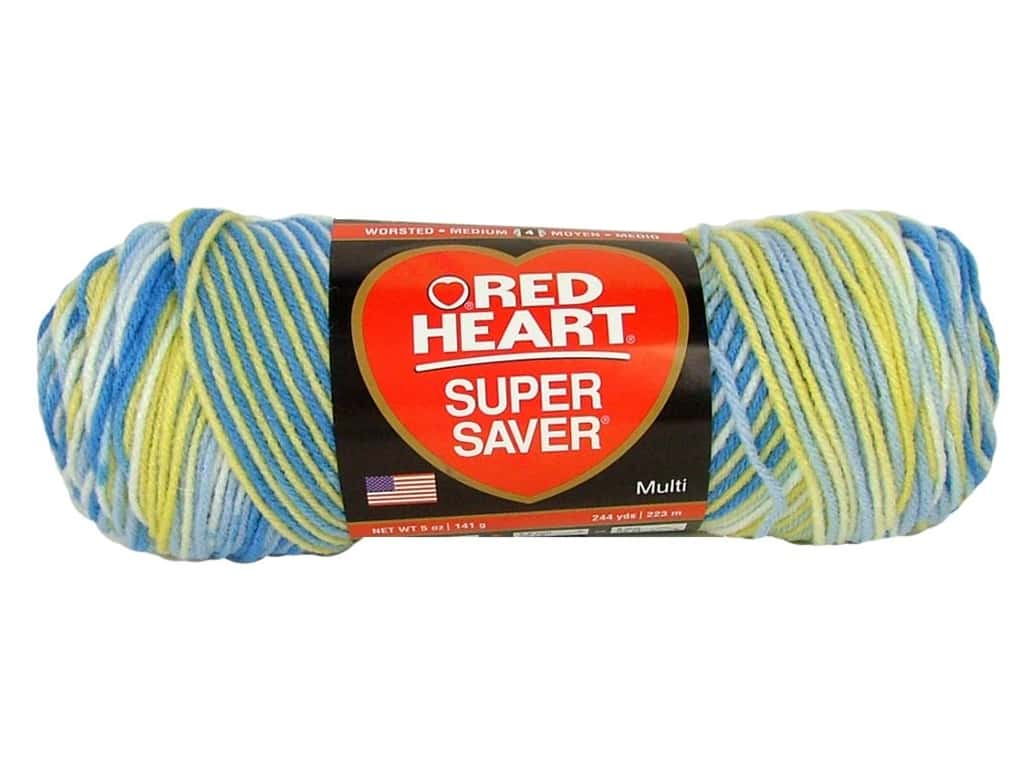 Red Heart Super Saver Yarn 236 yd. #0996 French Country