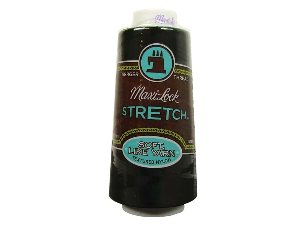 Maxi-Lock Stretch Thread 2000 yd. Black