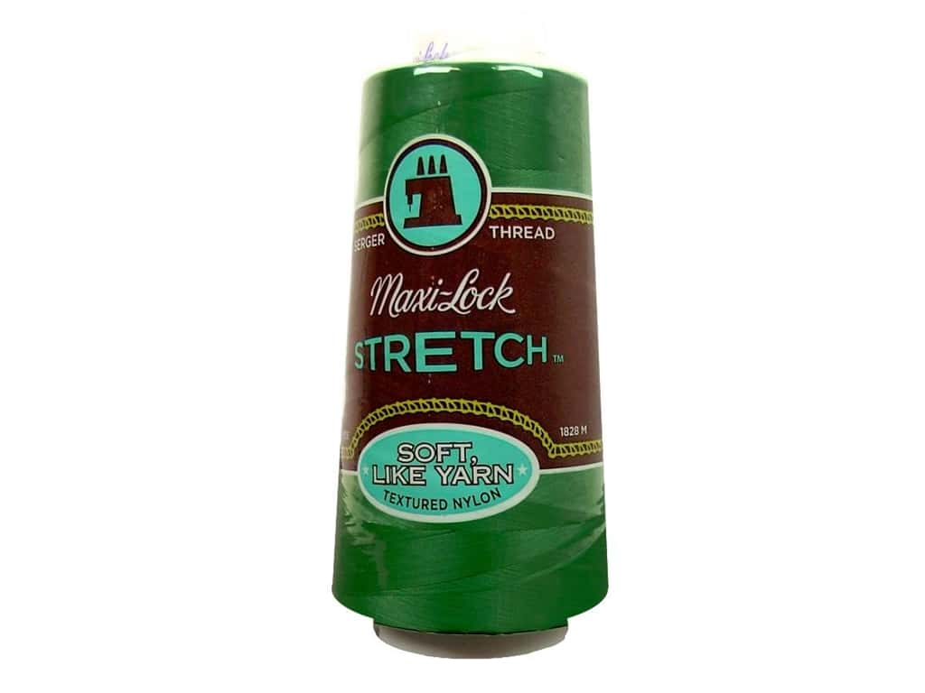 Maxi-Lock Stretch Thread 2000 yd. Emerald