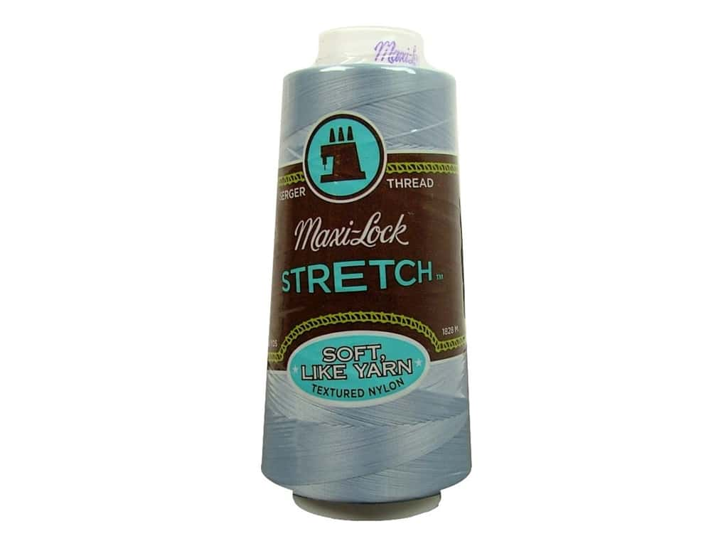 Maxi-Lock Stretch Thread 2000 yd. Lucerne Blue