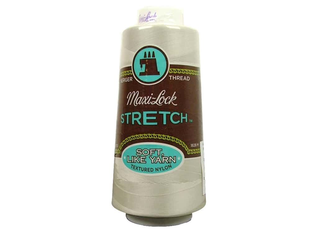Maxi-Lock Stretch Thread 2000 yd. Pearl