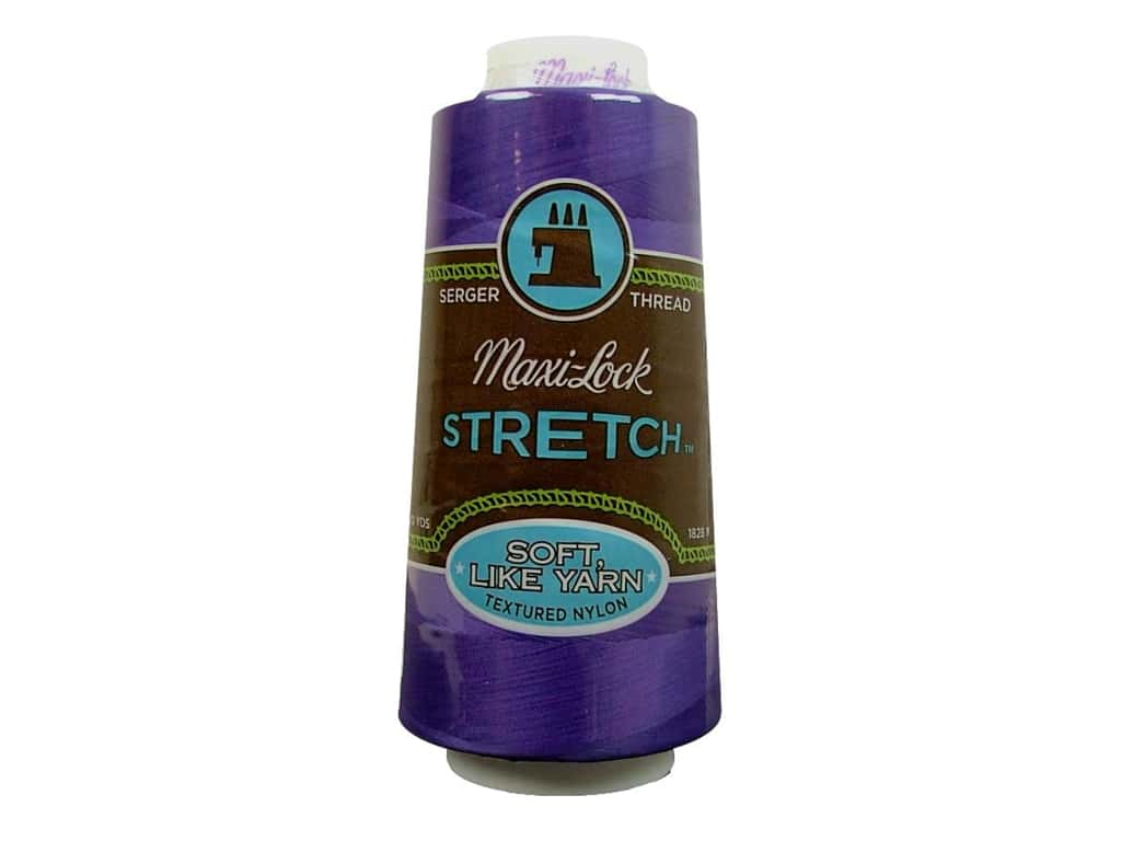 Maxi-Lock Stretch Thread 2000 yd. Purple