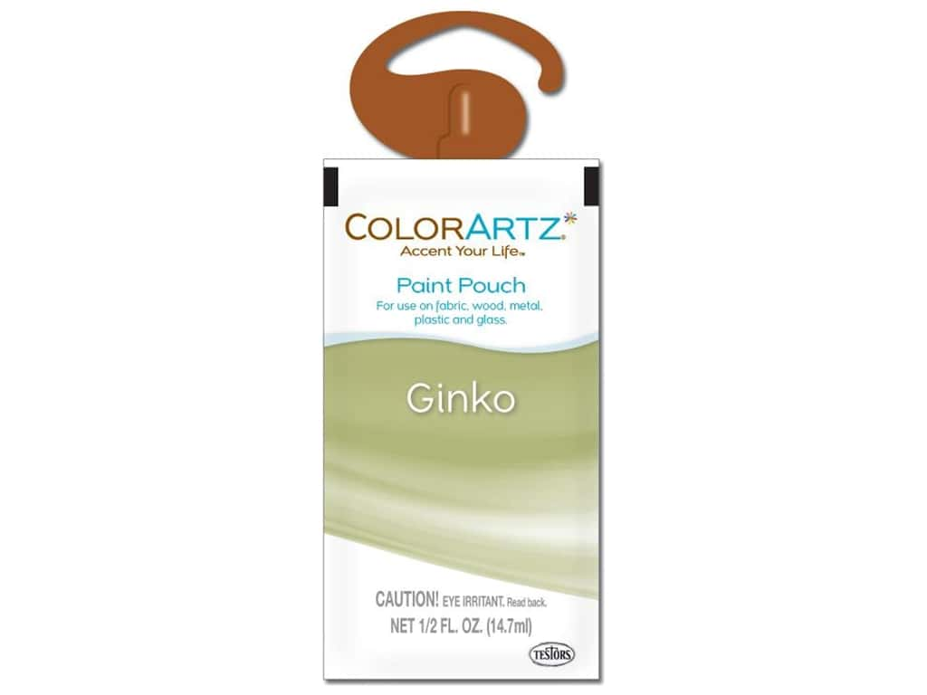 Testors ColorArtz Paint Pouch 1.5oz Gingko