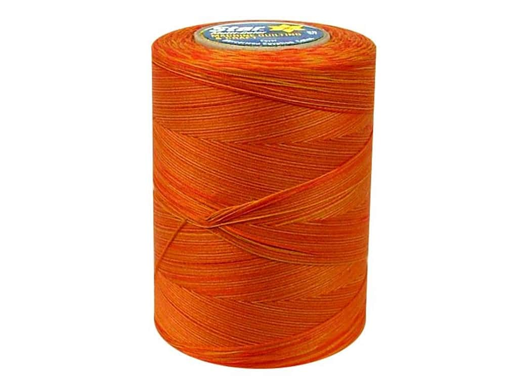 Coats & Clark Star Variegated Mercerized Cotton Quilting Thread 1200 yd. #838 Canyon Harvest