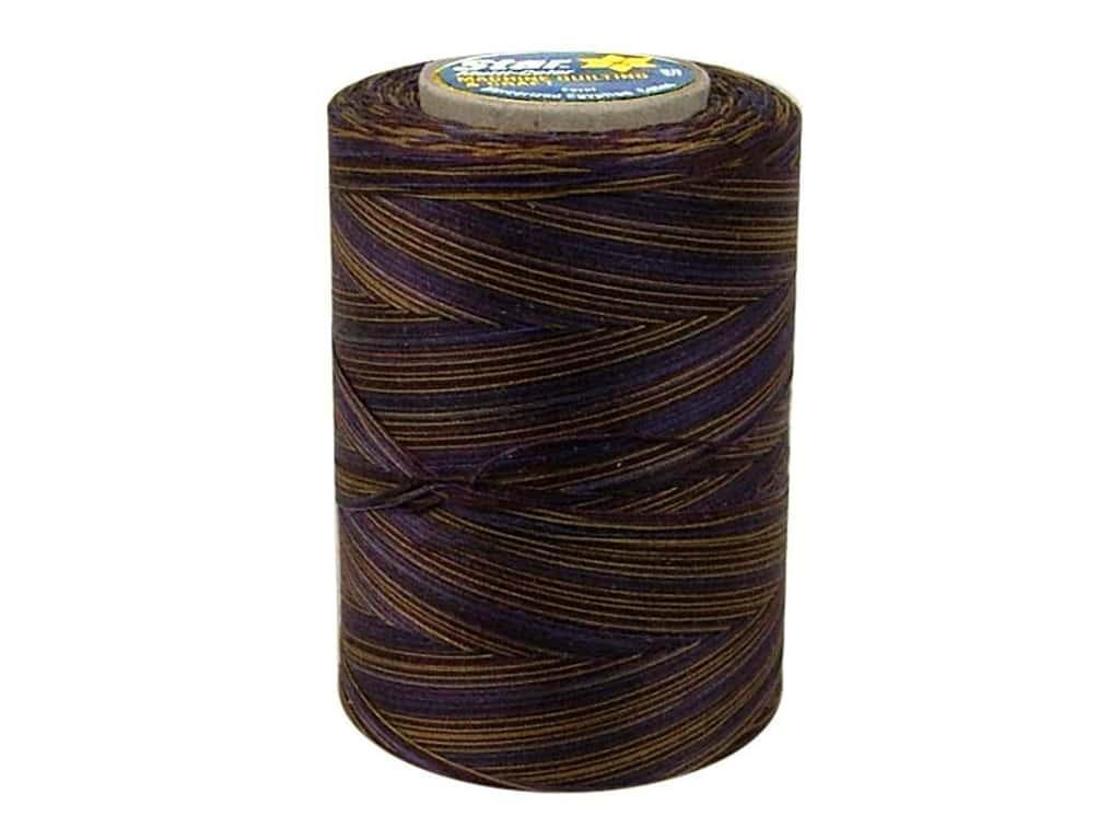 Coats & Clark Star Variegated Mercerized Cotton Quilting Thread 1200 yd. #850 Ivy League