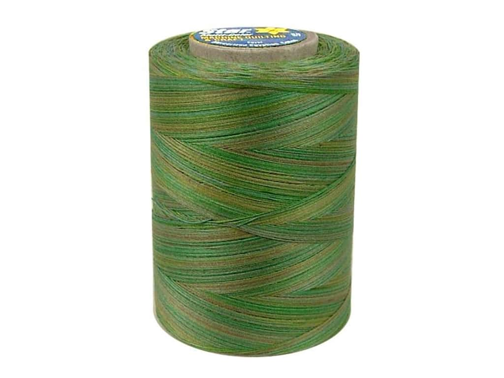 Coats & Clark Star Variegated Mercerized Cotton Quilting Thread 1200 yd. #852 Seedlings