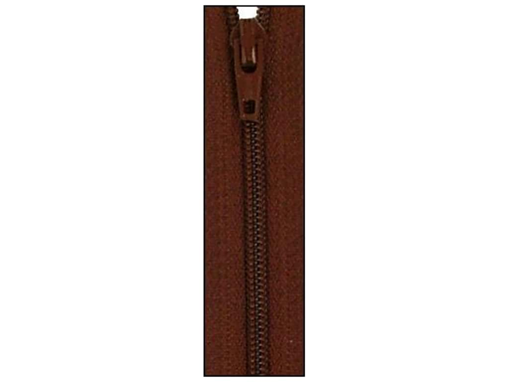 Atkinson Designs Zipper 14 in. by YKK Chocolate Syrup (6 pieces)