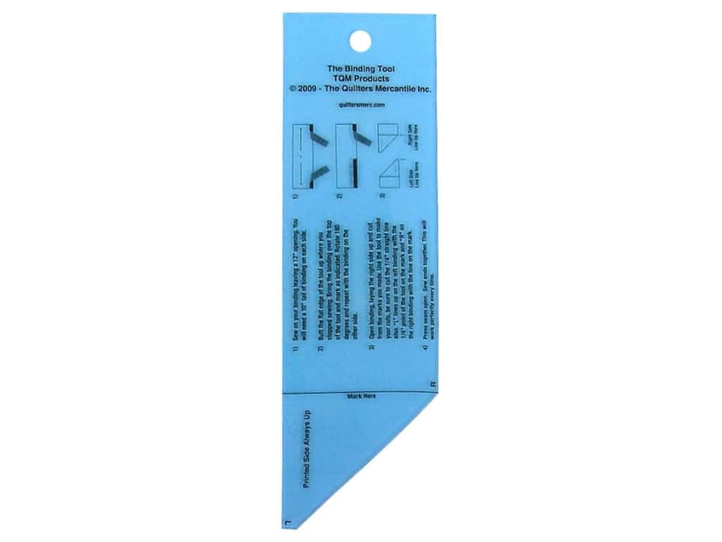 TQM Products Ruler The Binding Tool