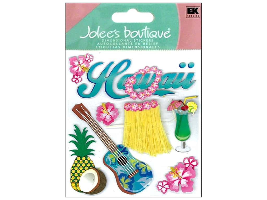Jolee's Boutique Stickers Hawaii