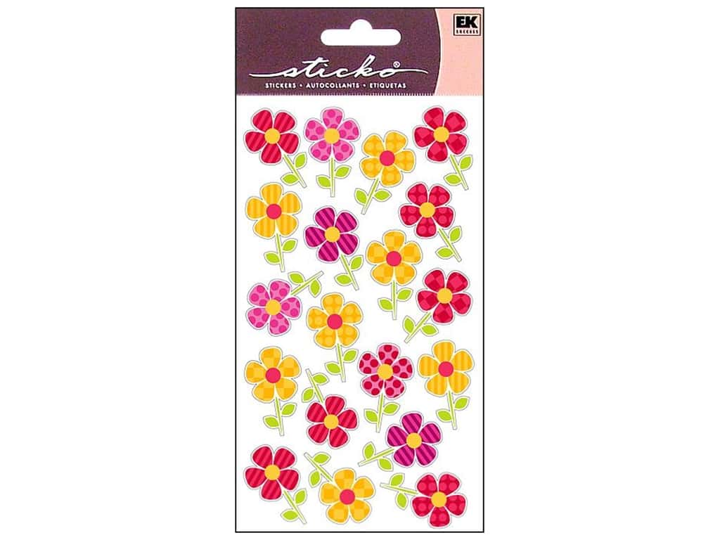 Sticko Stickers - Repeats Fun Flower