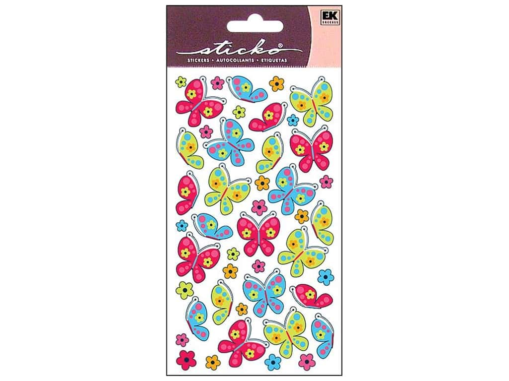 Sticko Stickers - Spicy Butterflies