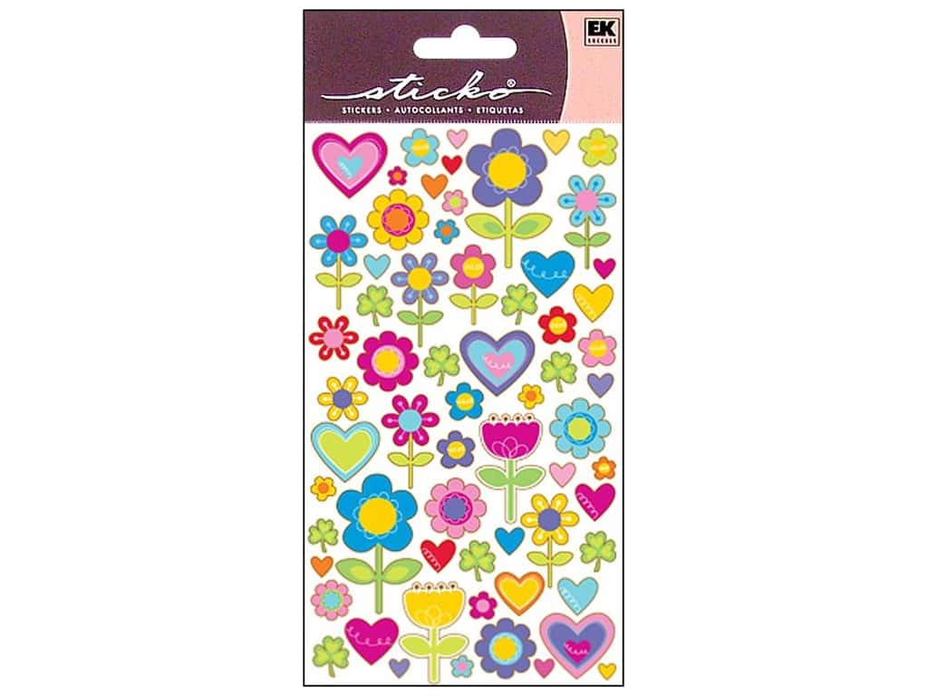Sticko Stickers - I Love Flowers