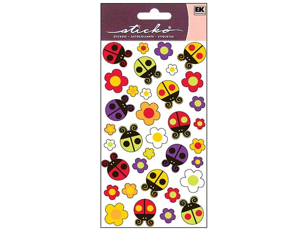 Sticko Stickers - Bugs N Blossoms