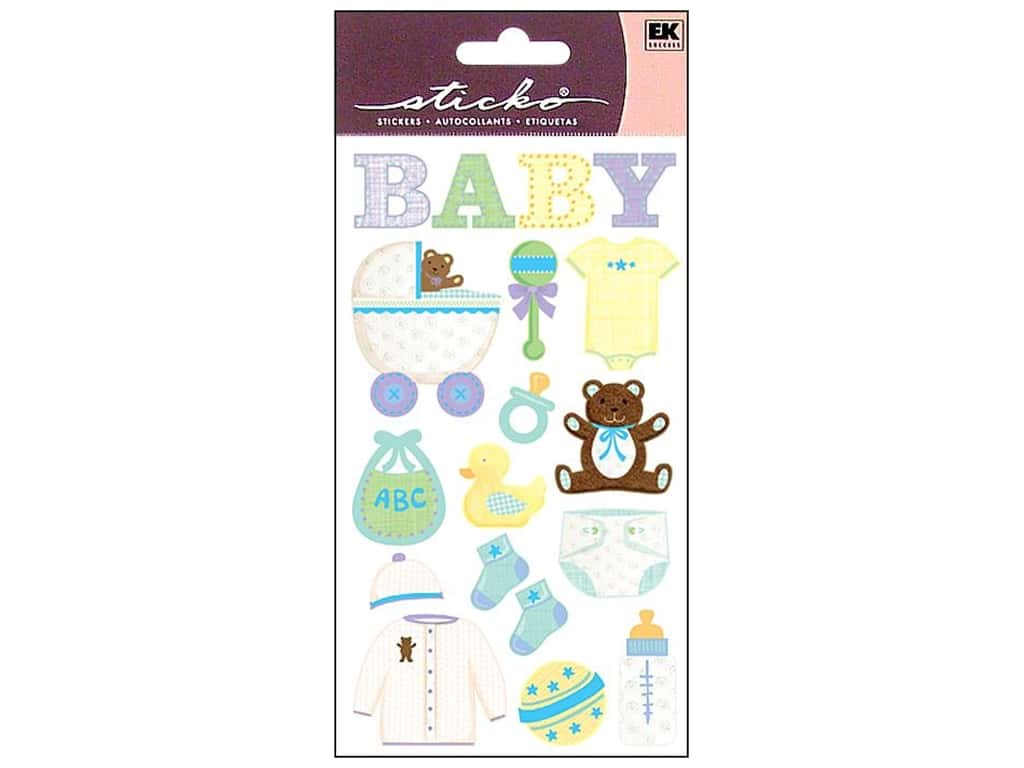 Sticko Stickers - Baby Objects