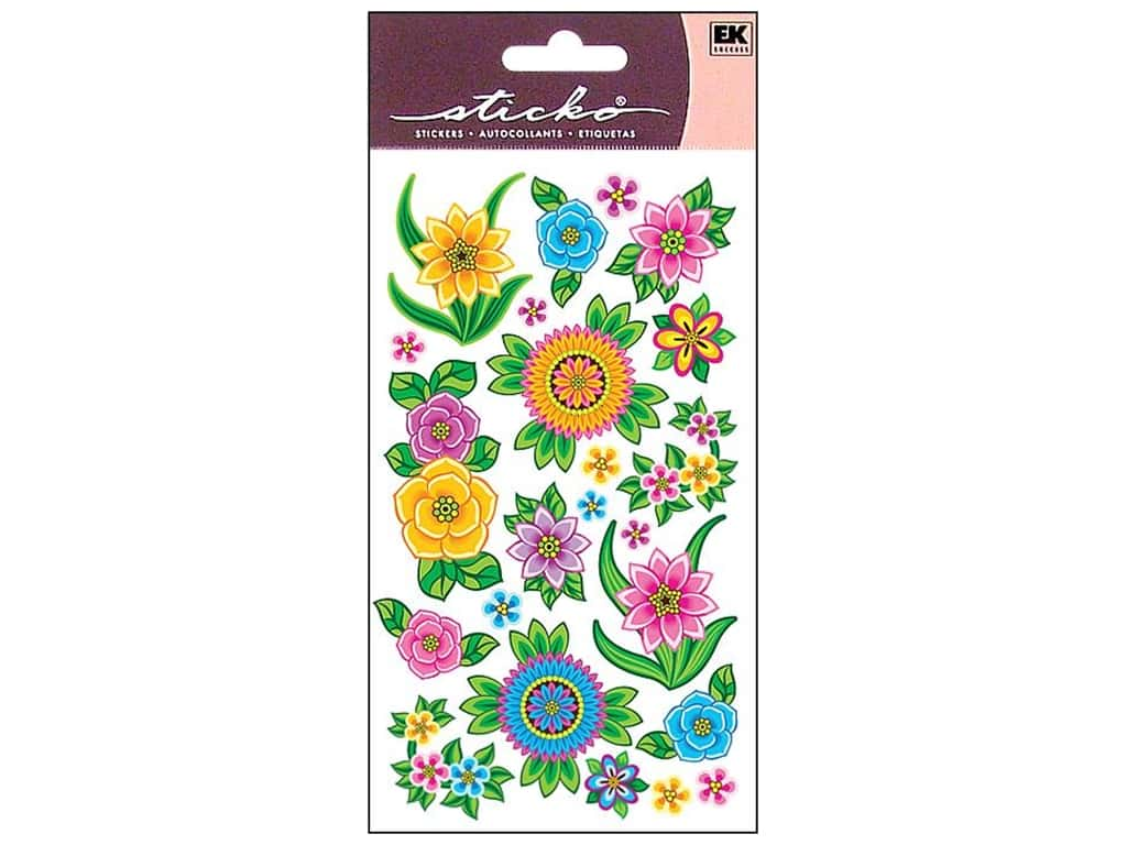 Sticko Stickers - Flores