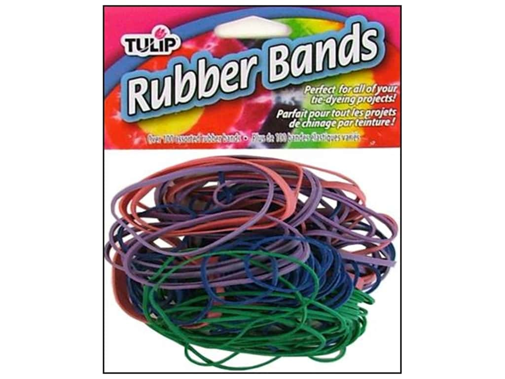 Tulip Rubber Bands 100 pc.