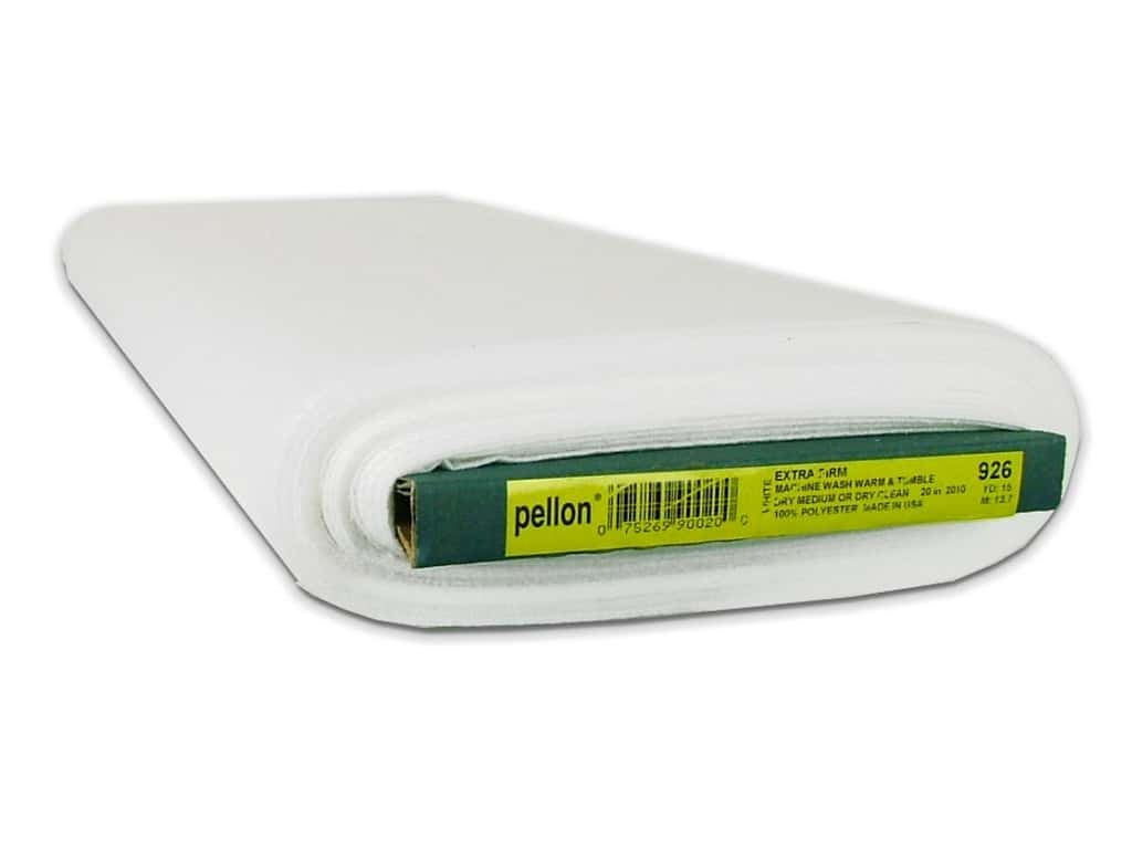 Pellon Extra-Firm Sew In Stabilizer 20 in. x 15 yd. White (15 yards)