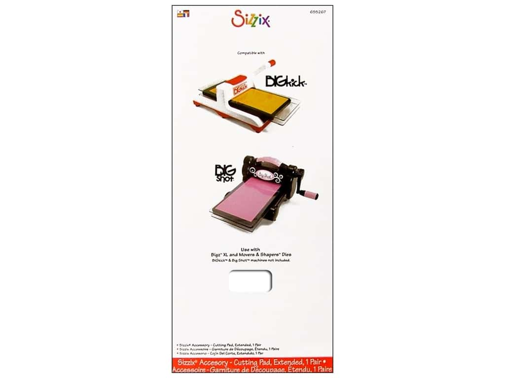 Sizzix Cutting Pad Extended 2 pc. Clear