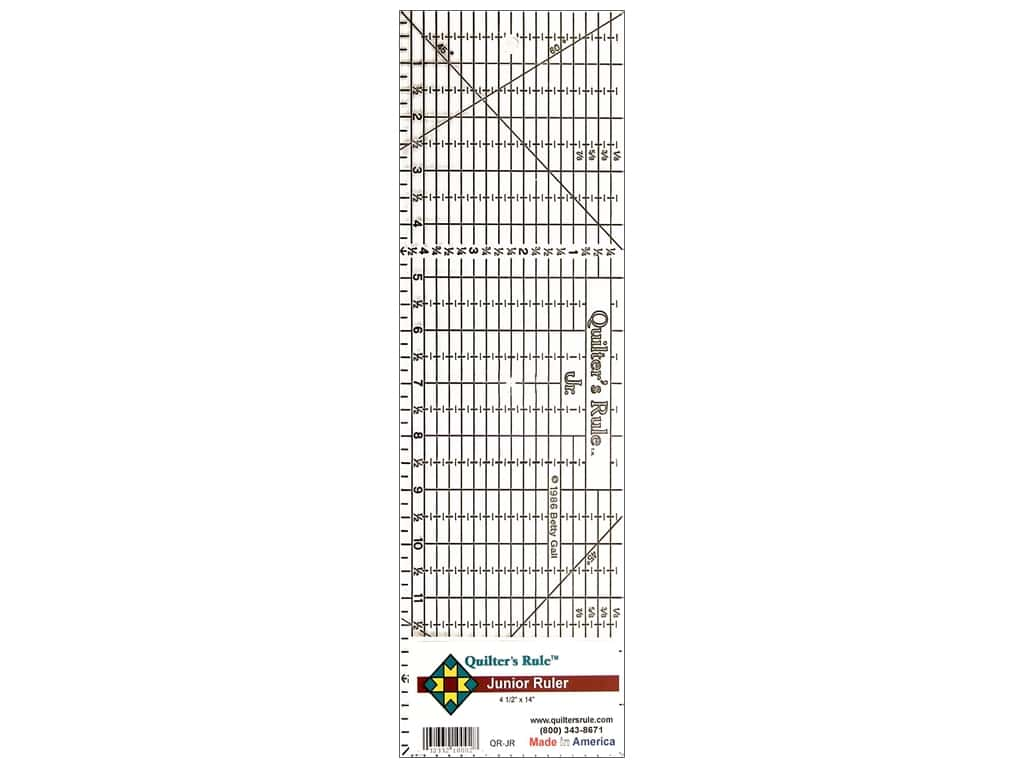 Quilter's Rule Junior Ruler 4 1/2 x 14 in.