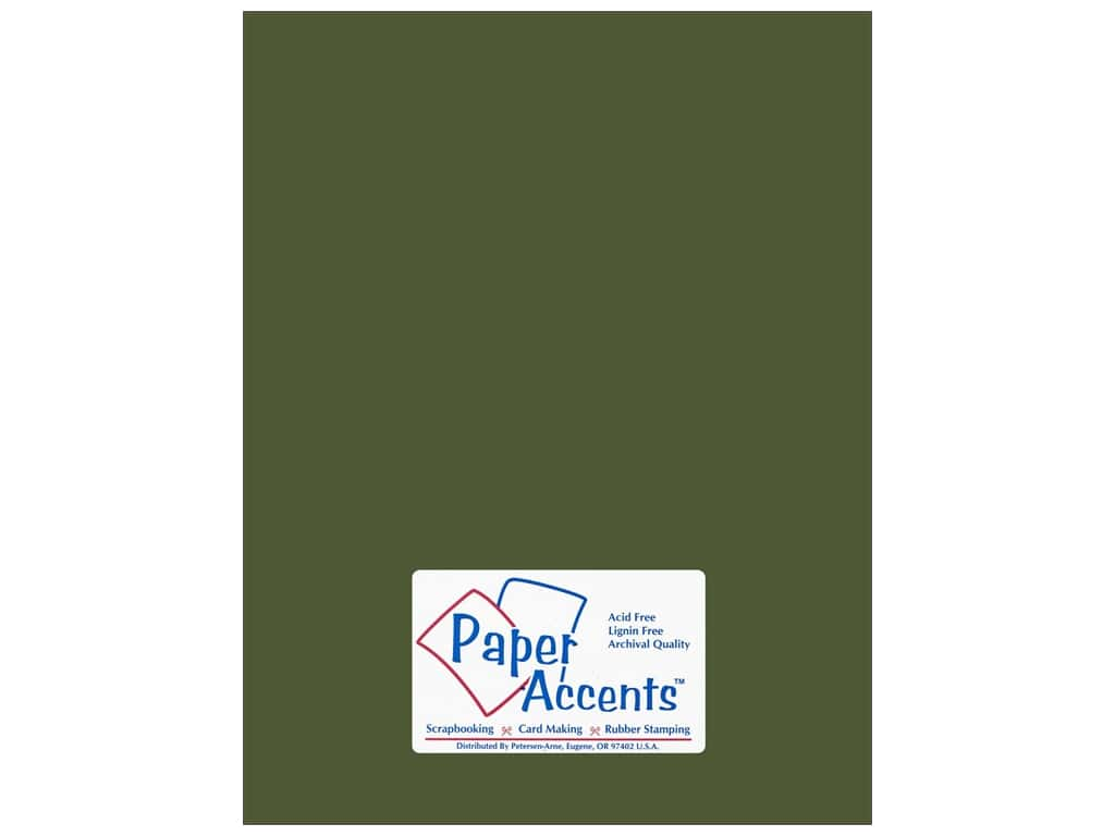 Paper Accents Cardstock 8 1/2 x 11 in. #18024 Smooth Rain Forest 25 pc.