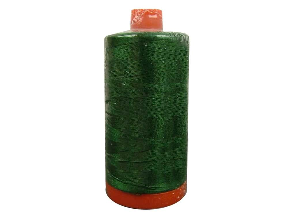 Aurifil Mako Cotton Quilting Thread 50 wt. #4026 Dark Green 1420 yd.