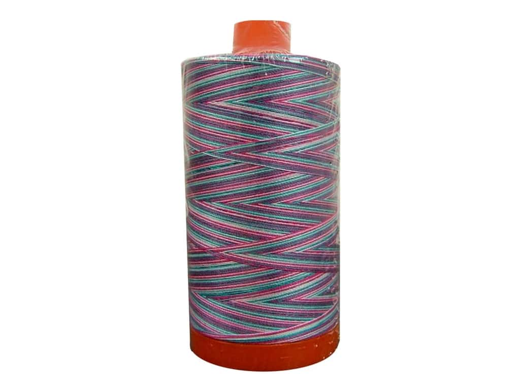 Aurifil Mako Cotton Quilting Thread 50 wt. #4647 Variegated Cotton Candy 1420 yd.
