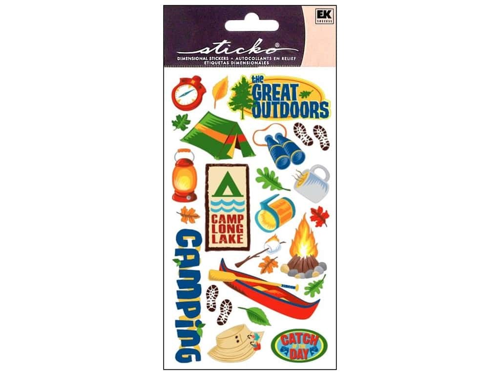Sticko Stickers - The Great Outdoors