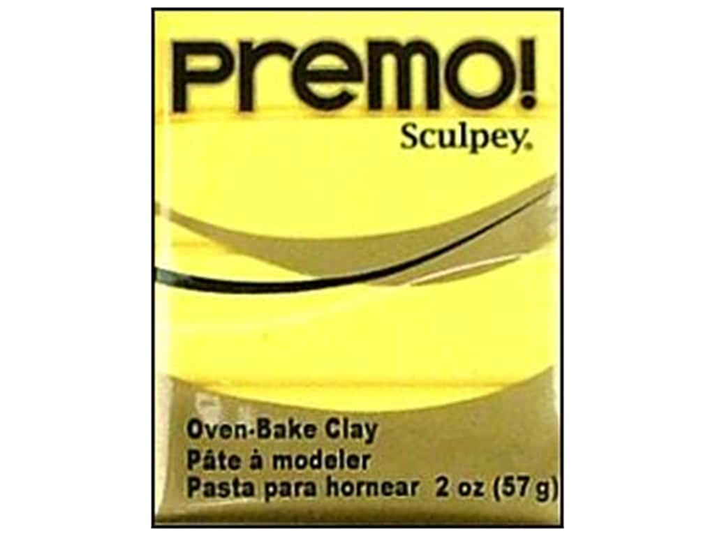 Premo! Sculpey Polymer Clay 2 oz. Sunshine