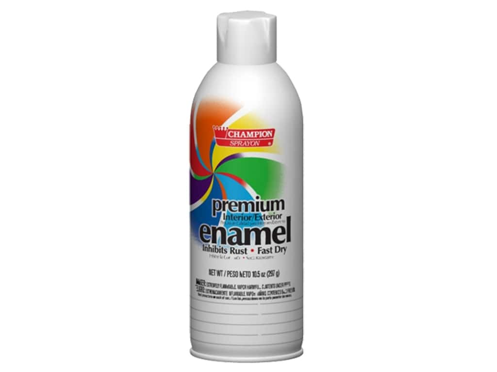 Chase Champion Premium Enamel Spray Paint 10.5 oz. Flat White