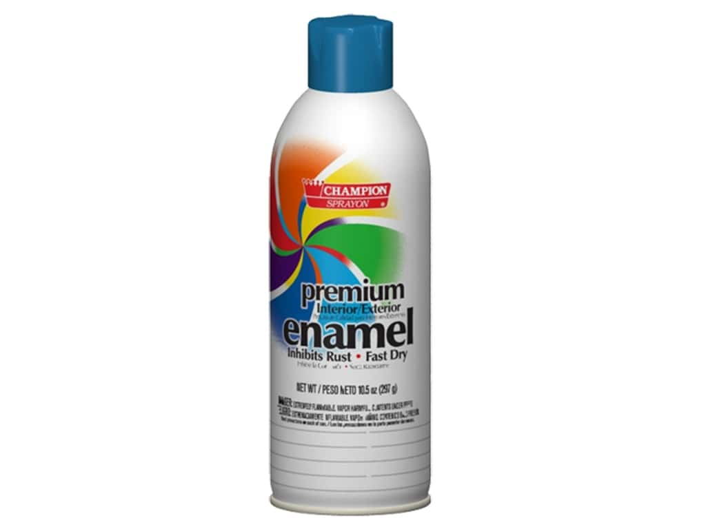 Chase Champion Premium Enamel Spray Paint 10.5 oz. Gloss Ocean Blue