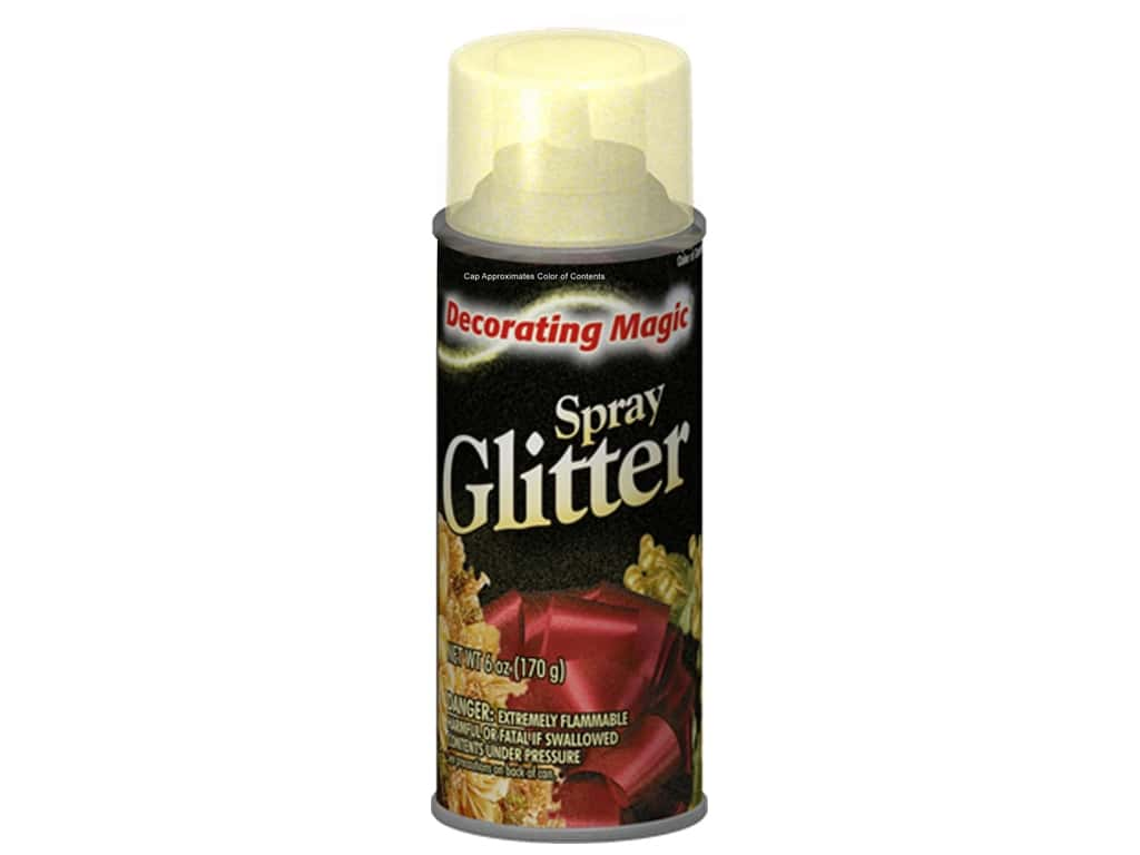 Chase Decorating Magic Spray Glitter 6 oz. Gold