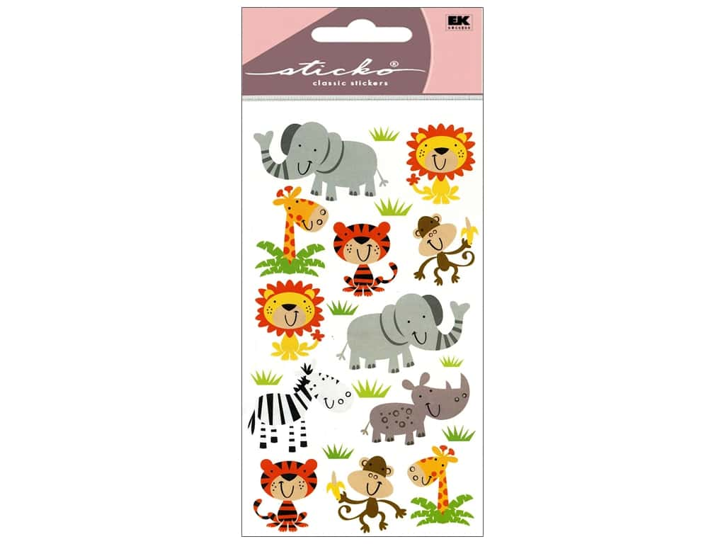 Sticko Stickers - Zoo Cuties