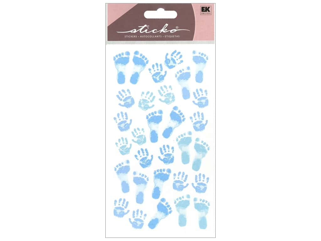 Sticko Stickers - Pastel Baby Boy Prints