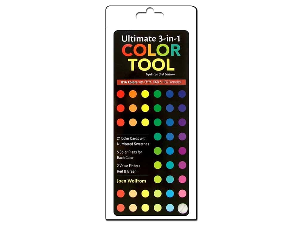 C&T Publishing Ultimate 3-in-1 Color Tool, Updated 3rd Edition