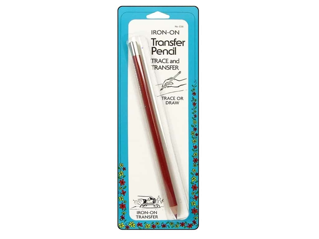 Transfer Pencil by Collins Red