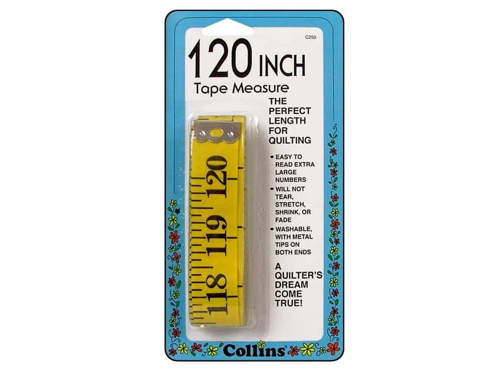 Tape Measure 120 Inch by Collins