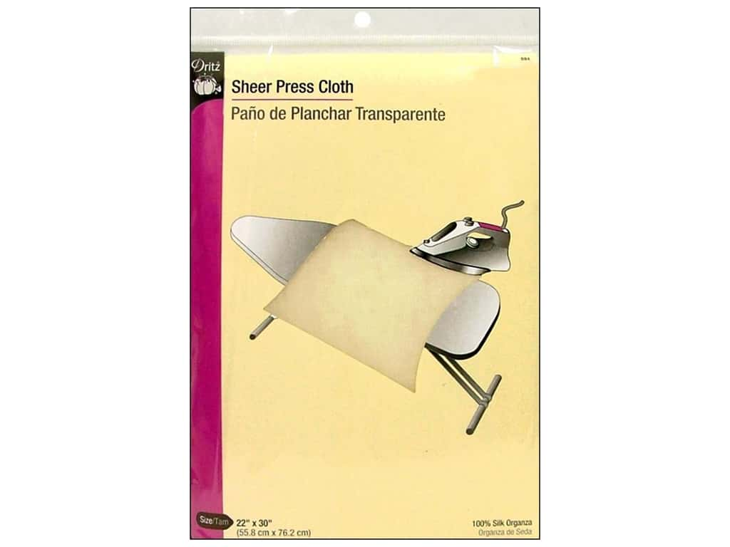 Sheer Press Cloth by Dritz 22 x 30 in.