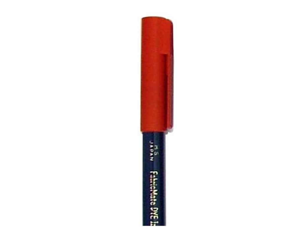 FabricMate Fabric Markers Brush Tip Short Barrel Red