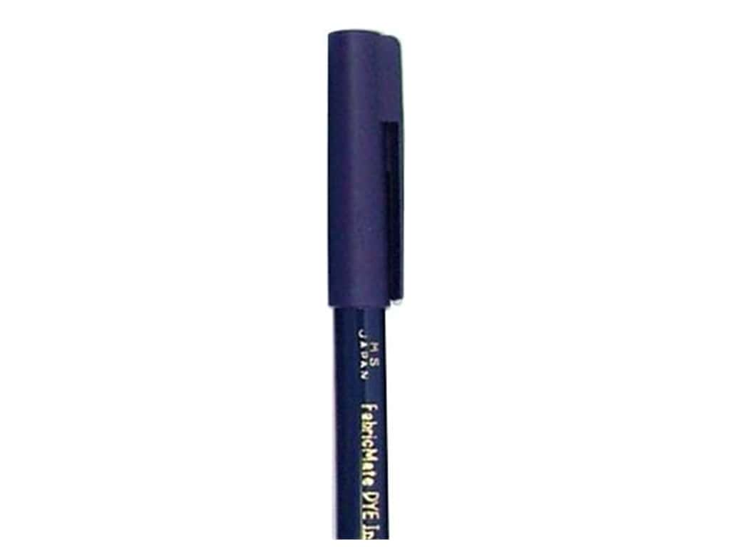 FabricMate Fabric Markers Brush Tip Short Barrel Blue