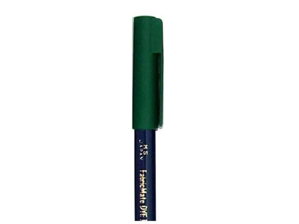 FabricMate Fabric Markers Brush Tip Short Barrel Green
