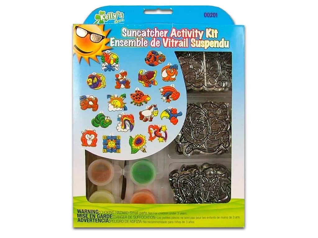 Kelly's Suncatcher Group Activity Kit 18 pc. Fun Day